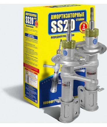 Заказать Амортизаторы (стойки телескопические) SS20 передней подвески ВАЗ 1117-9 комфорт под бочкообразную пружину пара по выгодной цене в интернет-магазине