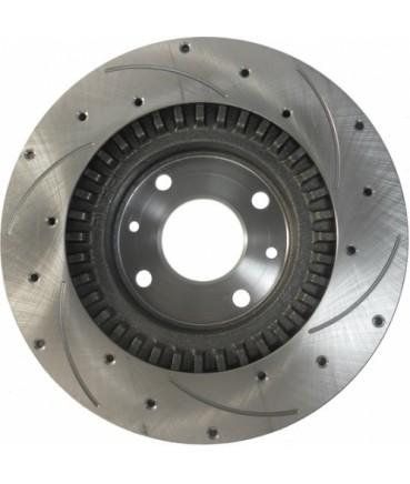 Заказать Передние дисковые тормоза Алнас 15 с перфорацией и канавками по дешевой цене в интернет-магазине
