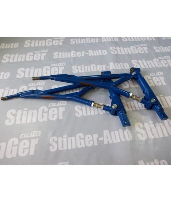 Рычаги треугольные передний привод ВАЗ 2108-12 Синие Стингер
