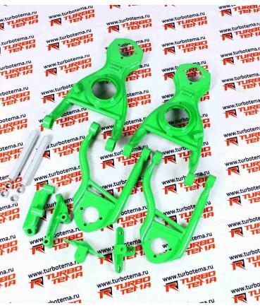 Рычаги Турботема Дрифт зеленые на ваз 2101- 2107 сварные сошки