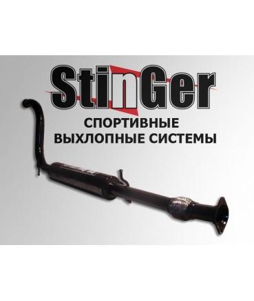 Заказать Резонатор прямоток стингер ВАЗ Калина с гофрой по выгодной цене в интернет-магазине
