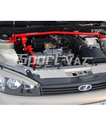 Заказать Растяжка передних стоек Гранта/Калина 8V c доп опорой по выгодной цене в интернет-магазине