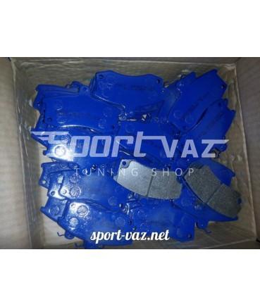 Спортивные колодки тормозные переднего тормоза ВАЗ 2108-2110 Езати