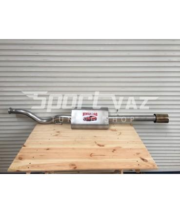 Глушитель Muscle car для ВАЗ 2110-2111