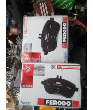 Заказать колодки тормозные переднего тормоза ВАЗ 2108-2172 FERODO по дешевой цене в интернет-магазине