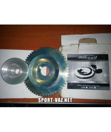 Спортивные шкивы коленвала и генератора Прокар 2108-2172