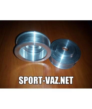 Шкив генератора ВАЗ передний привод увеличенного диаметра